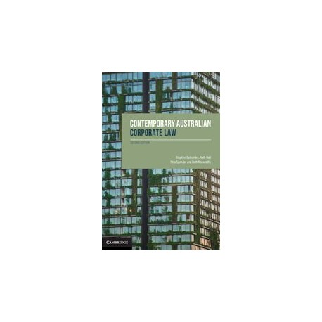 Contemporary Australian Corporate Law (2nd ed.)